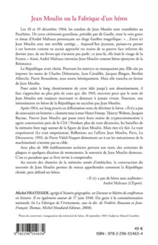 4eme Jean Moulin ou la fabrique d'un héros