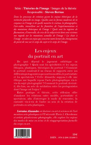 4eme Les enjeux du portrait en art