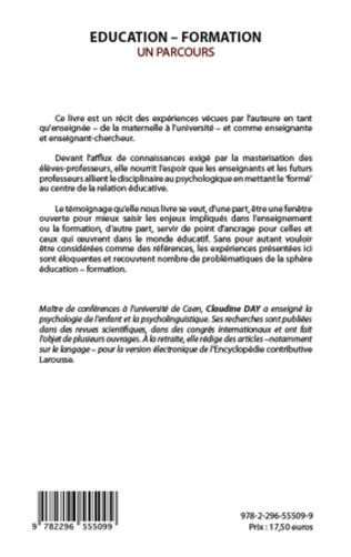 4eme EDUCATION FORMATION UN PARCOURS