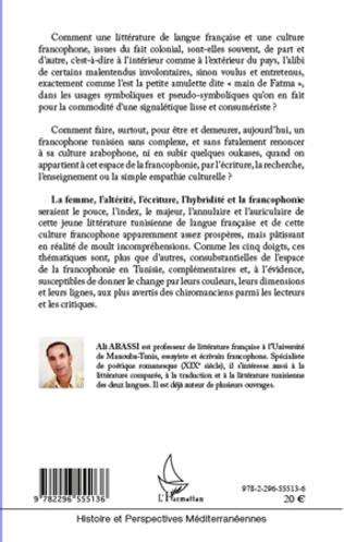 4eme Espaces francophones tunisiens ou Main de Fatma