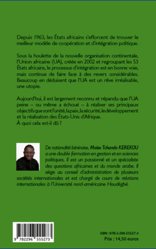 4eme Union africaine et processus d'intégration