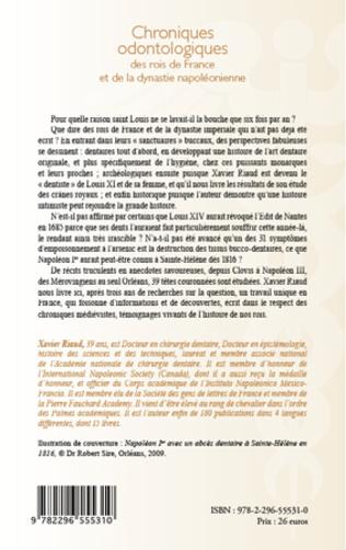 4eme Chroniques odontologiques des rois de France et de la dynastie napoléonienne