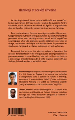4eme Handicap et société africaine