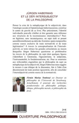 4eme Jürgen Habermas et le défi intersubjectif de la philosophie