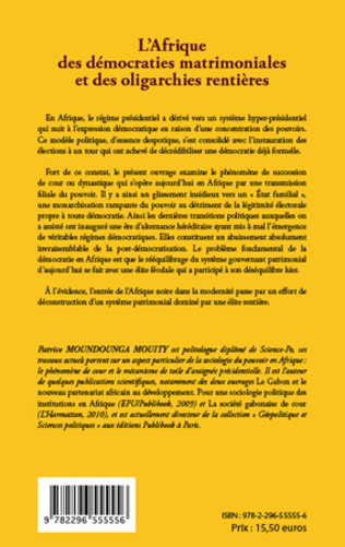 4eme L'Afrique des démocraties matrimoniales et des oligarchies rentières