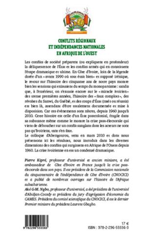 4eme Conflits régionaux et indépendances nationales en Afrique de l'Ouest