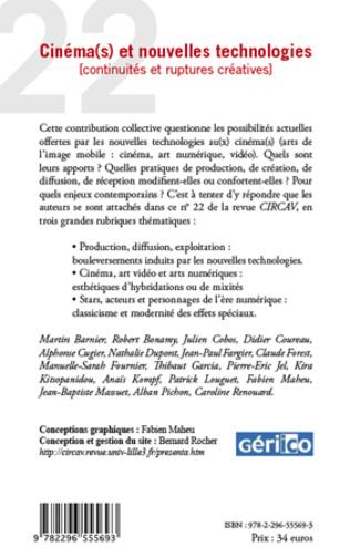 4eme Cinéma(s) et nouvelles technologies