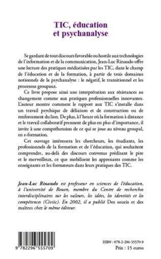4eme TIC, éducation et psychanalyse