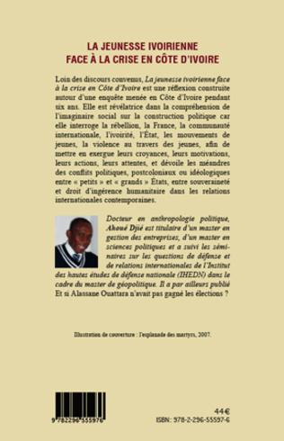 4eme La jeunesse ivoirienne face à la crise en Côte d'Ivoire