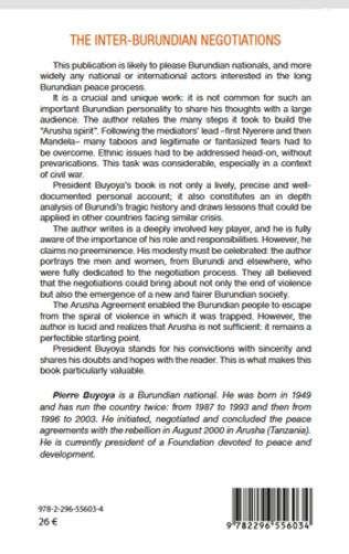 4eme The inter-burundian negotiations