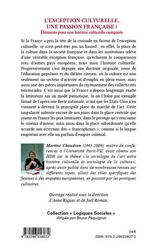 4eme L'exception culturelle, une passion française ?