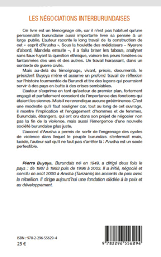 4eme Les négociations interburundaises