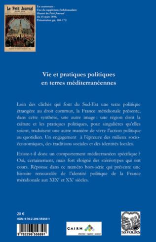 4eme Vie et pratiques politiques en terres méditerranéennes