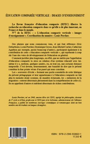 4eme Education comparée verticale : images d'enseignement