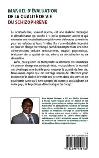 4eme Manuel d'évaluation de la qualité de vie du schizophrène