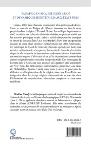 4eme Panafricanisme, religion akan et dynamiques identitaires aux Etats-Unis