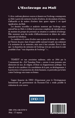 4eme L'esclavage au Mali