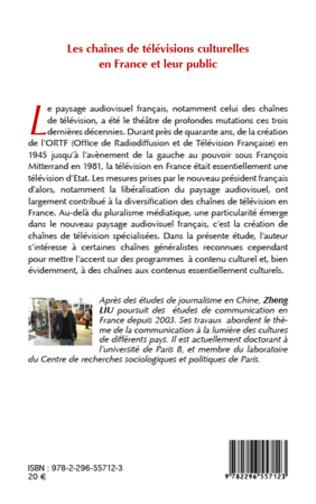 4eme Les chaînes de télévisions culturelle  en France et leur public