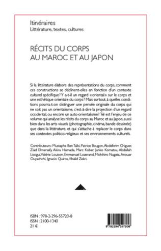 4eme Récits du corps au Maroc et au Japon