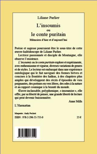 4eme L'insoumis ou le conte puritain