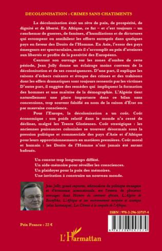 4eme Décolonisation : crimes sans châtiments