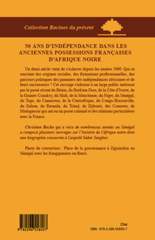 4eme 50 ans d'indépendance dans les anciennes possessions françaises d'Afrique Noire