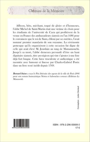 4eme La mandarinade ou l'histoire comique du mandrinat de M. l'abbé de Saint-Martin