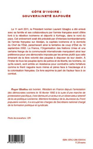 4eme Côte d'Ivoire : souveraineté bafouée