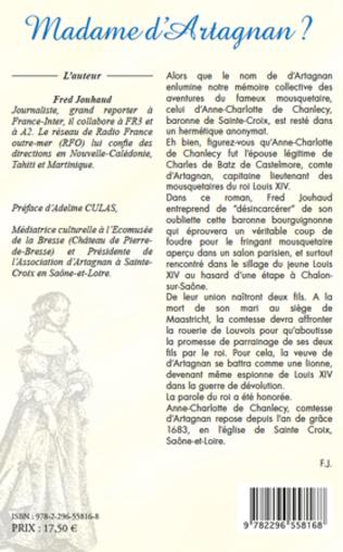 4eme Madame D'Artagnan?