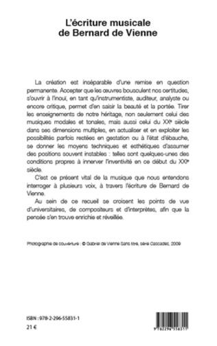 4eme L'écriture musicale de Bernard de Vienne