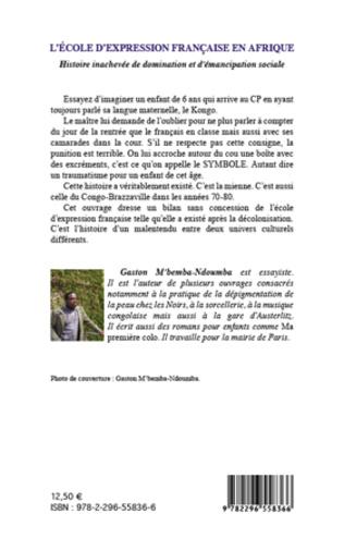 4eme L'école d'expression française en Afrique