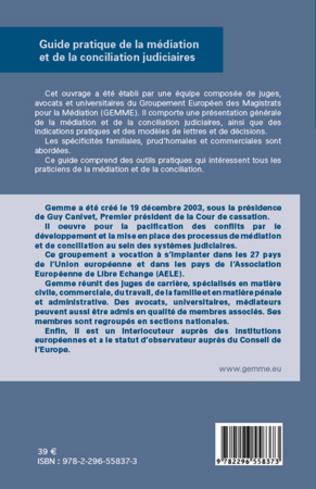 4eme Guide pratique de la médiation et de la conciliation judiciaires
