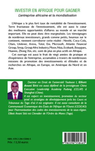 4eme Investir en Afrique pour gagner