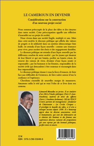 4eme Le Cameroun en devenir