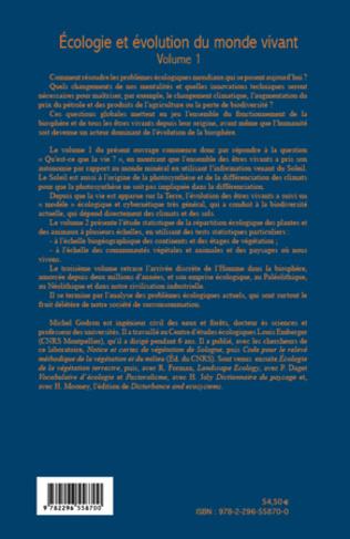 4eme Ecologie et évolution du monde vivant (Volume 1)
