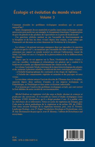4eme Ecologie et évolution du monde vivant (Volume 3)