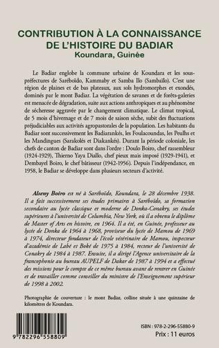 4eme Contribution à la connaissance de l'histoire du Badiar