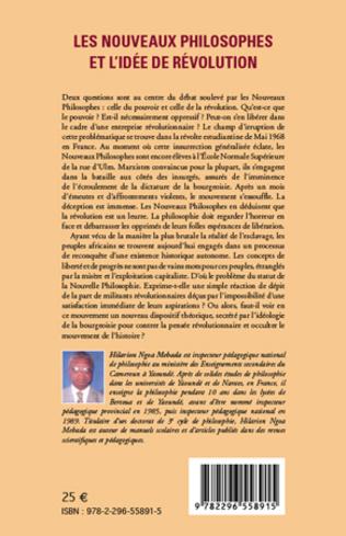 4eme Les nouveaux philosophes et l'idée de révolution
