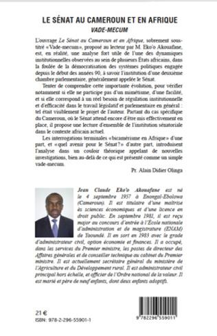 4eme Le sénat au Cameroun et en Afrique