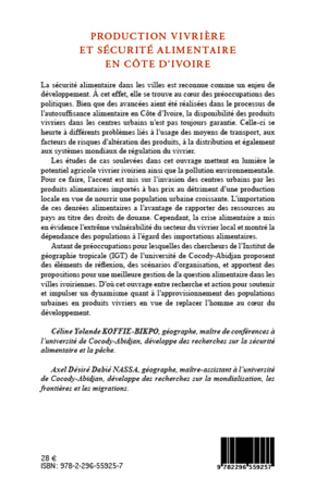 4eme Production vivrière et sécurité alimentaire en Côte d'Ivoire