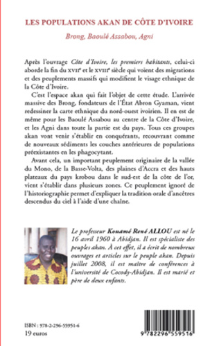 4eme Les populations Akan de Côte d'Ivoire