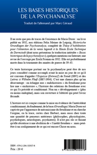 4eme Les bases historiques de la psychanalyse
