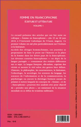 4eme Femme en Francophonie (Volume 1)