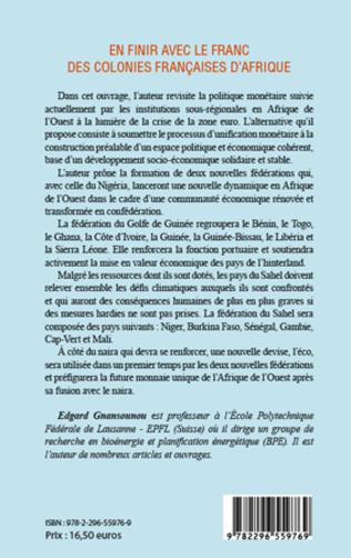 4eme En finir avec le franc des colonies françaises d'Afrique