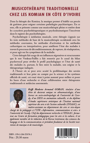 4eme Musicothérapie traditionnelle chez les Komian en Côte d'Ivoire