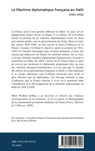 4eme Machine diplomatique française en Haïti