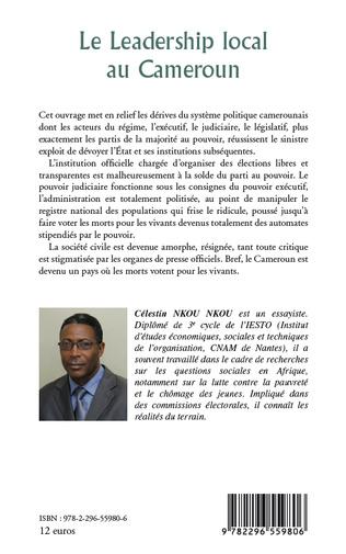 4eme Le leadership local au Cameroun