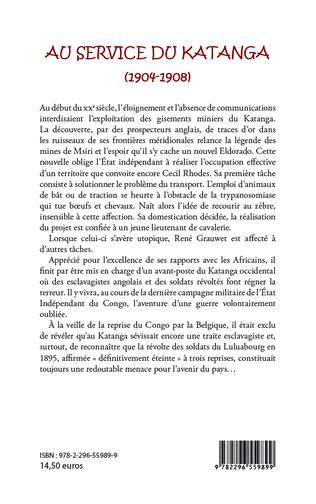 4eme Au service du Katanga (1904-1908) Mémoires