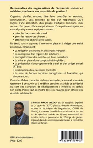 4eme Manuel de gestion des organisations de l'économie sociale et solidaire