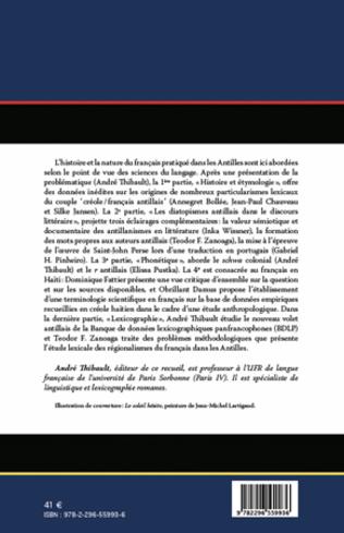 4eme Le français dans les Antilles : études linguistiques